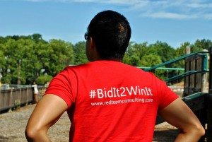Red Team's Slogan: #BidIt2WinIt