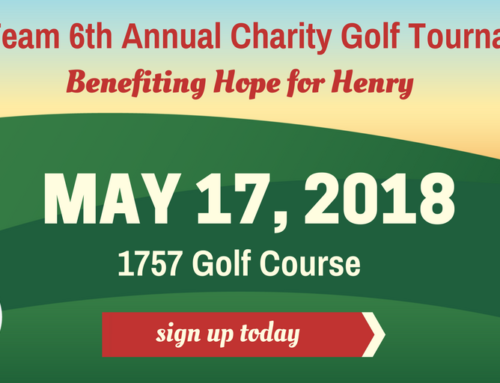 Announcing: Red Team's 2018 Charity Golf Tournament