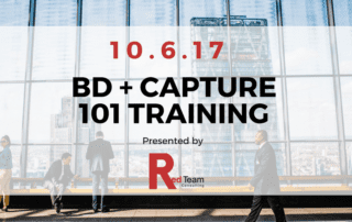 Business Development and Capture 101 Training - GovCon Events