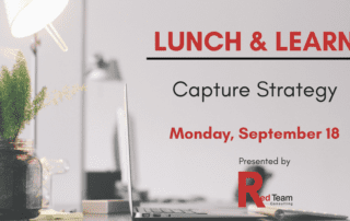 Capture Strategy - Govcon Events