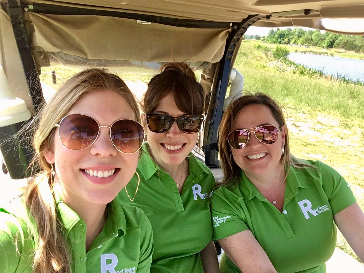 charity golf tournament - Red Team Consulting