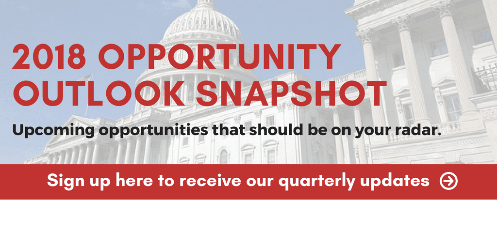 2018 Opportunity Outlook