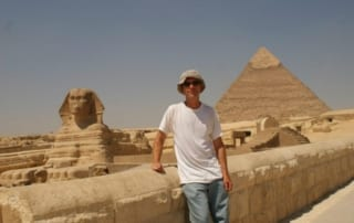 Mark Dudley in Egypt