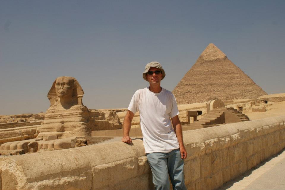 Mark Dudley in Egypt