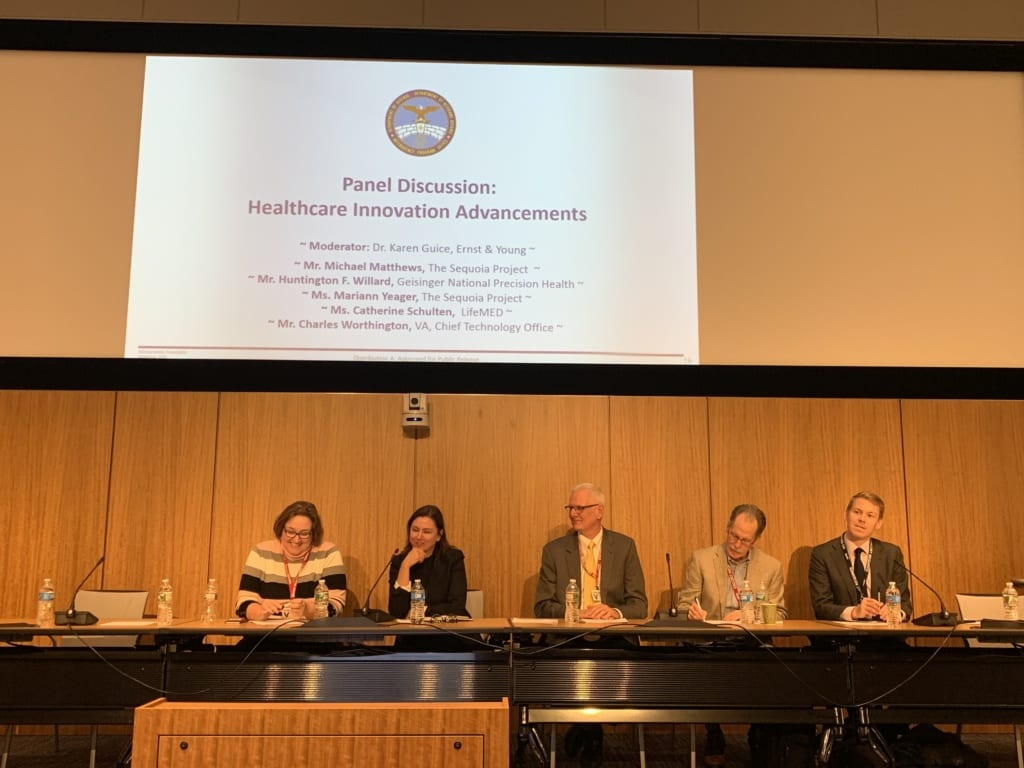 Panel Discussion at DoD VA Industry Interoperability Roundtable