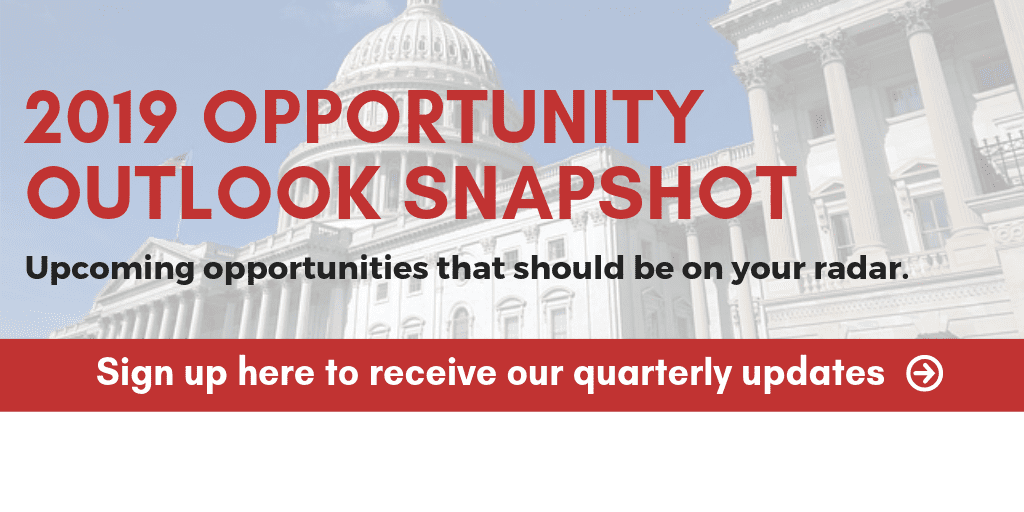 2019 opportunity outlook