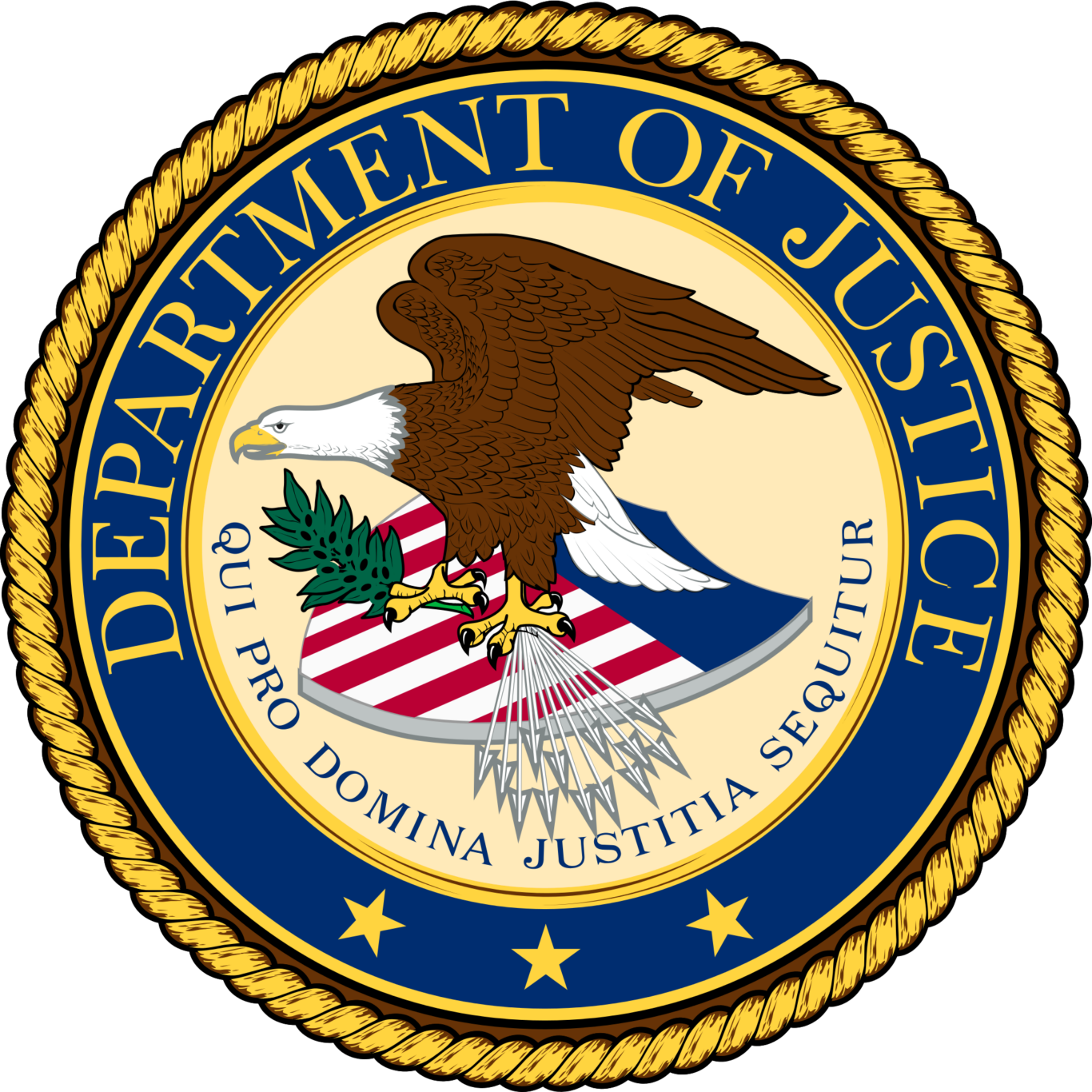 Department of Justice Emblem