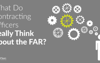 What Do Contracting Officers Really Think About the FAR