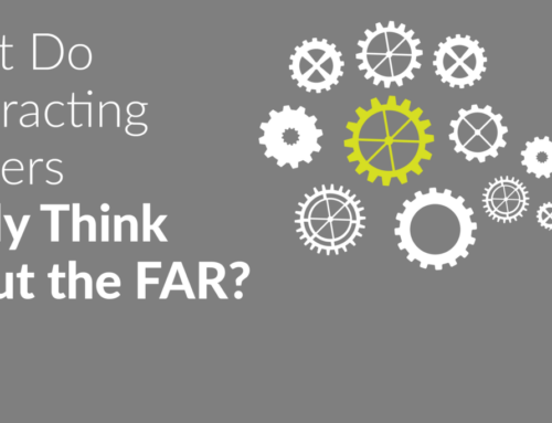 What Do Contracting Officers Really Think About the FAR?