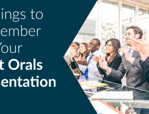 5 Things to Remember for Your Next Orals Presentation
