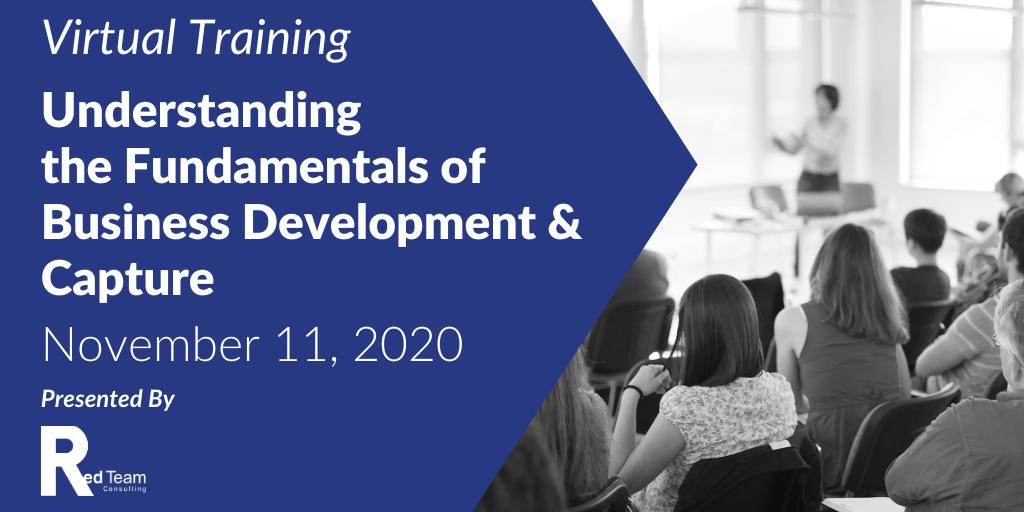Business Development and Capture training
