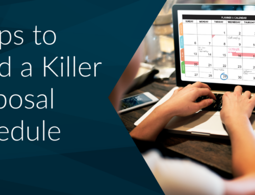 7 Tips to Build a Killer Proposal Schedule