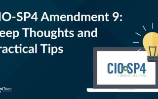 CIO-SP4 Amendment 9